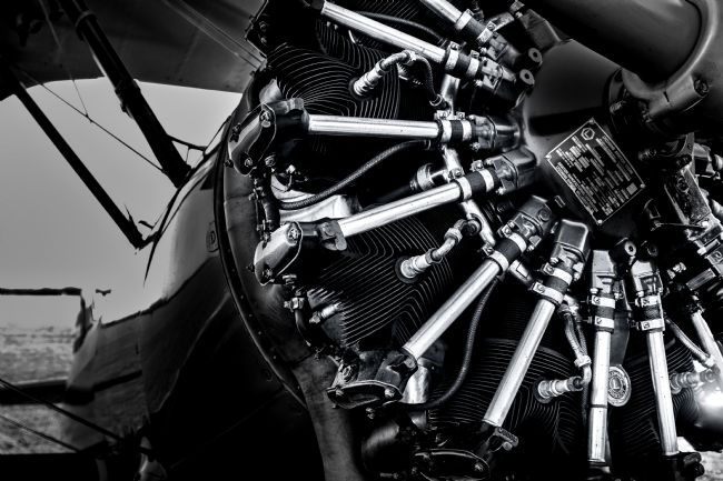 Ken Brannen | Boeing Stearman Lycoming Radial Engine