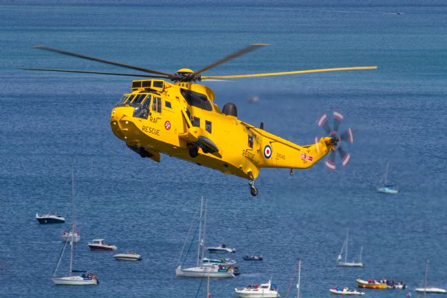 Ken Brannen |  Raf Sea King