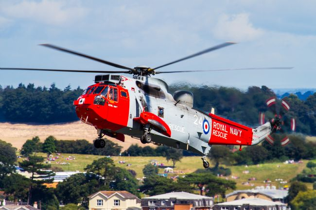 Ken Brannen | Royal Navy SeaKing at Dawlish 2015