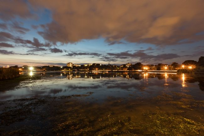 Jennifer Franklin | Day turns to night at Poole park