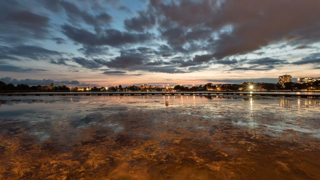 Jennifer Franklin | Poole Park at Sunset
