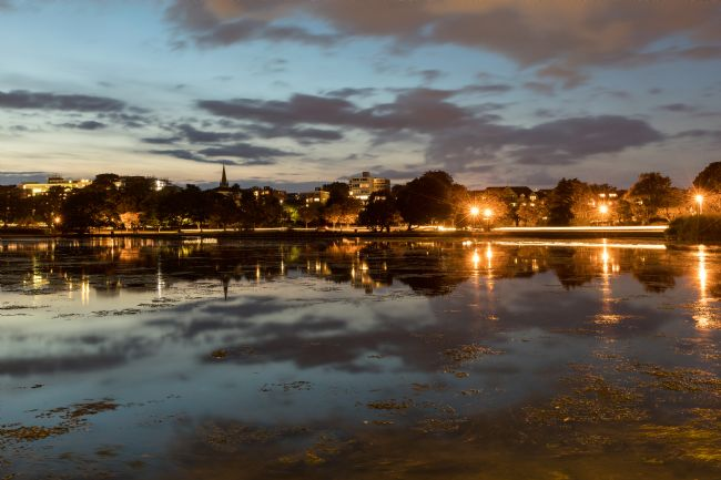 Jennifer Franklin | Just after Sunset at Poole Park