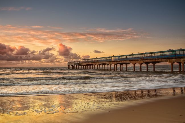 Jennifer Franklin | Glorious Golden Boscombe Pier