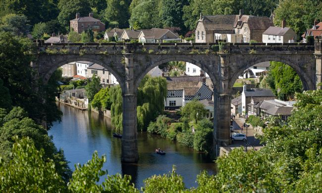 Liz Alderdice | The Bridge at Knaresborough