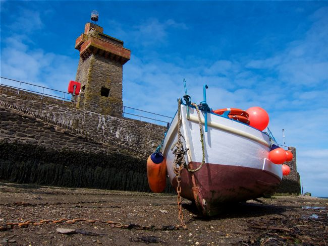 Iain McGregor | Fishing boat at Lynmouth