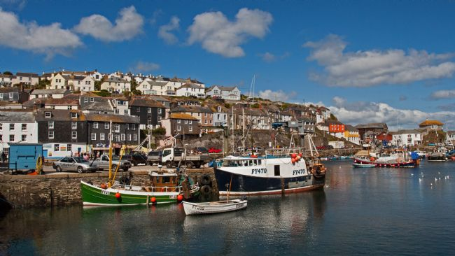 John Biggadike | Mevagissey Harbour view