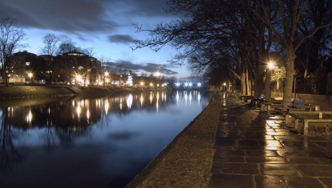 John Biggadike | River Ouse in York, from Lendal Bridge.