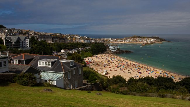 John Biggadike | St Ives from above