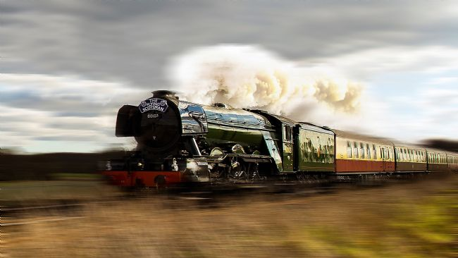 John Biggadike | Flying Scotsman