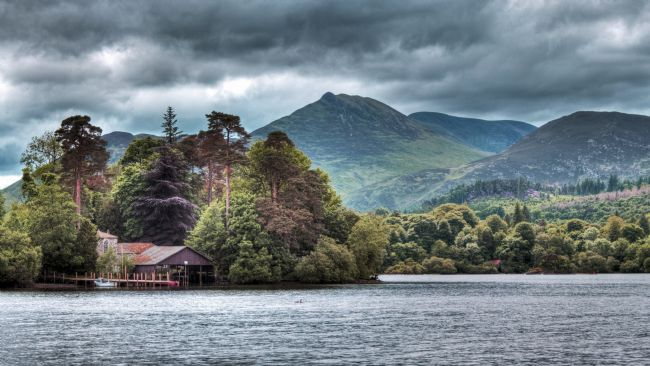 John Biggadike | Derwent Water in Autumn