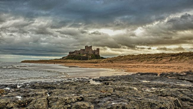John Biggadike | Bamburgh Castle.