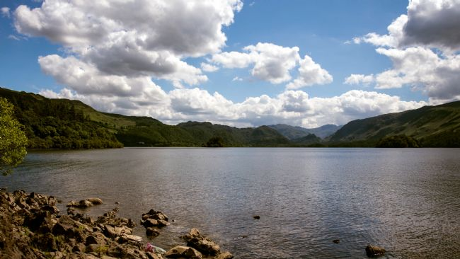 John Biggadike | Derwent water towards Great Gable.