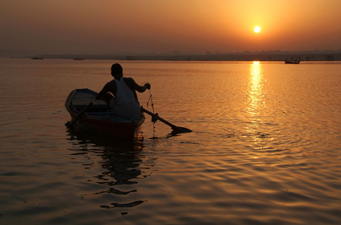 Serena Bowles | Sunrise on the Ganges, Varanasi, India