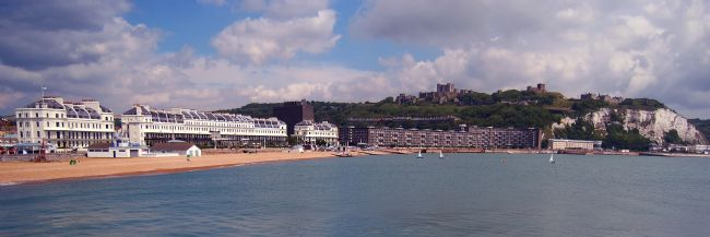 Serena Bowles | Dover Seafront from the Prince of Wales Pier, England