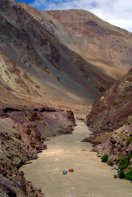 Serena Bowles | Rafting on the Zanskar River, Ladakh, India