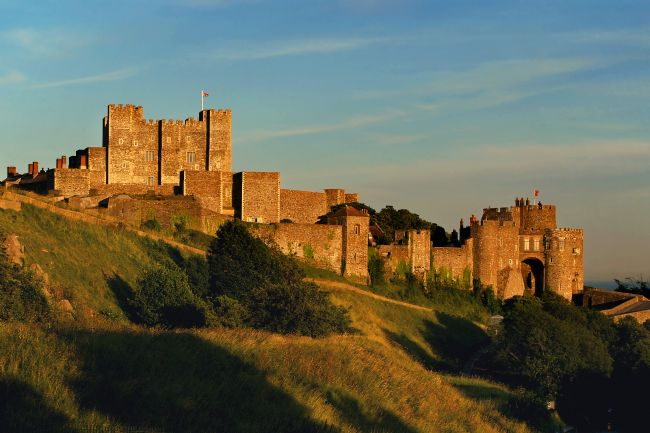 Serena Bowles | Dover Castle at Sunset