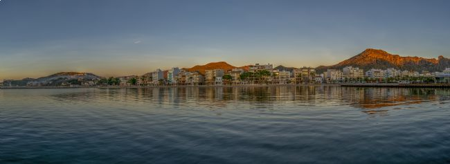 Perry Johnson | Panoramic view of Puerto Pollensa