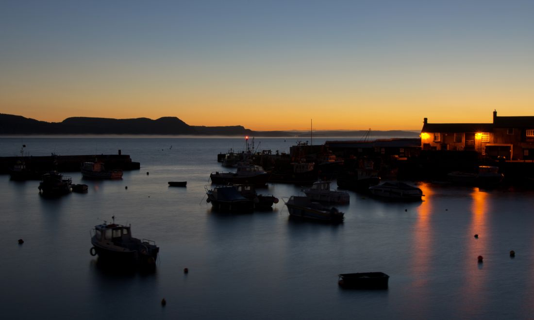 Pete Hemington | Dawn at Lyme Regis