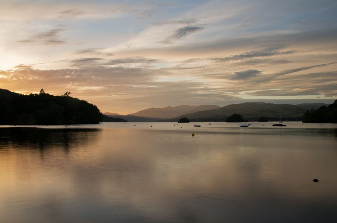 Pete Hemington | Dusk on Lake Windermere
