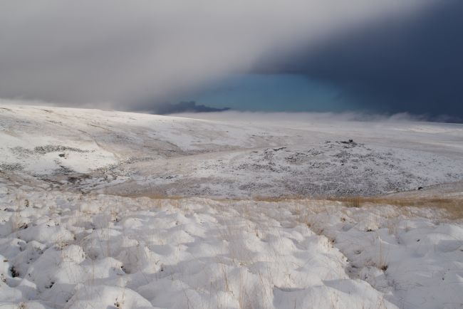 Peter Hemington | Snowy Lints Tor on Dartmoor