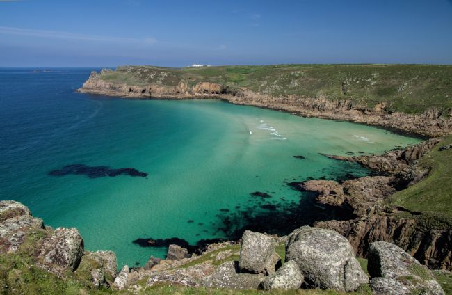 Peter Hemington | Nanjizal Bay in Cornwall