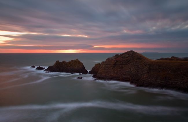 Peter Hemington | Hartland Quay at dusk
