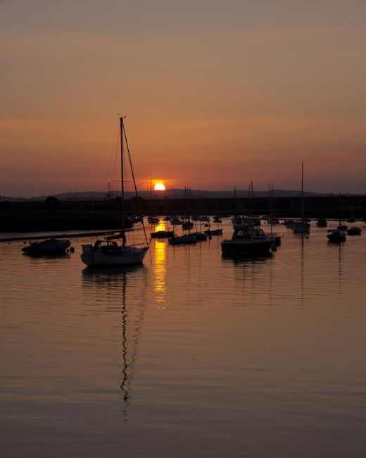 Peter Hemington | Sunset on the Exe