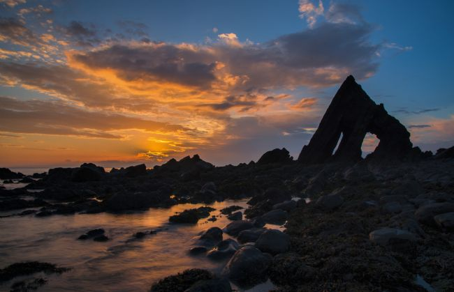 Peter Hemington | Blackchurch Rock in North Devon