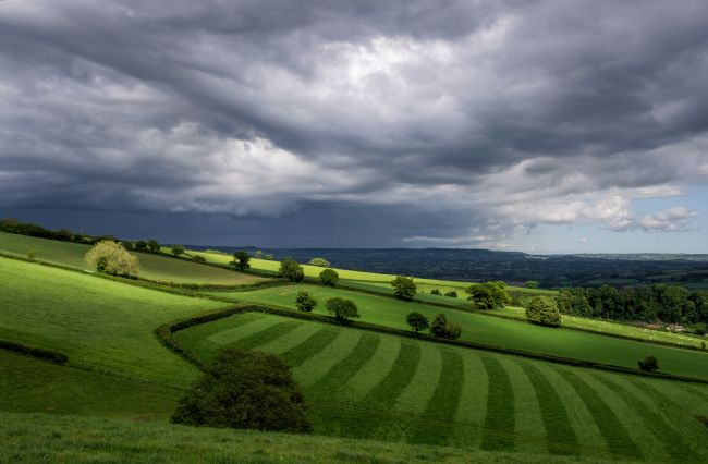 Pete Hemington | Light on Mid Devon Hills