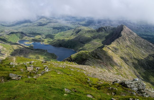 Peter Hemington | Y Lliwedd from Snowdon