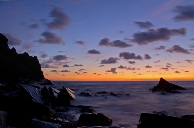 Peter Hemington | Sunset at Scrade in N Cornwall