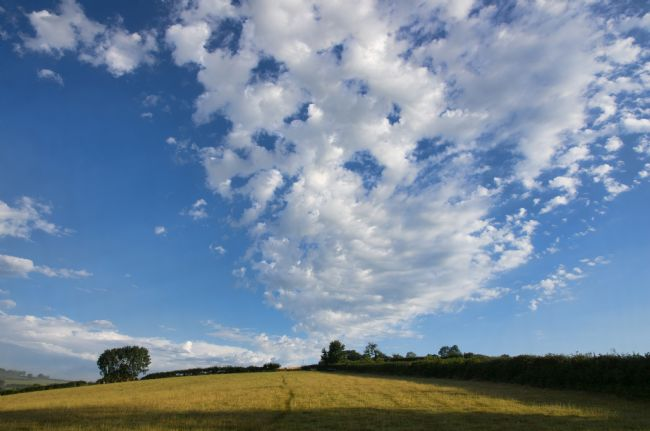 Peter Hemington | Clouds over Raddon Hill
