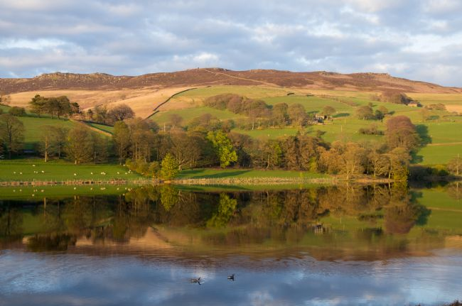 Peter Hemington | Reflection on Ladybower reservoir