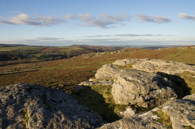 Peter Hemington | Dartmoor view from Saddle Tor