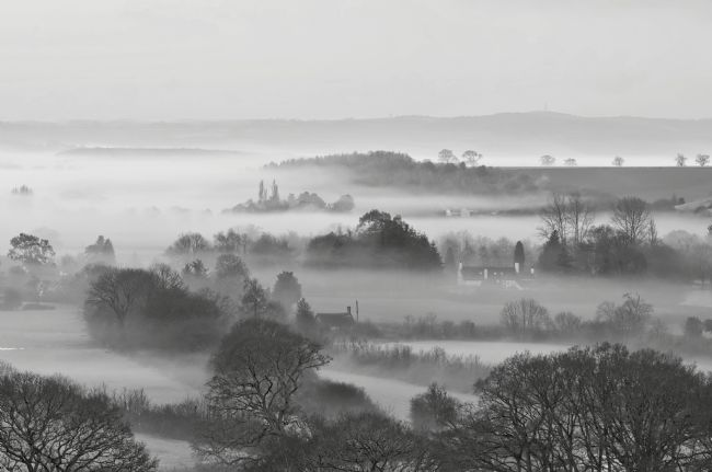 Pete Hemington | Mist in the Exe Valley