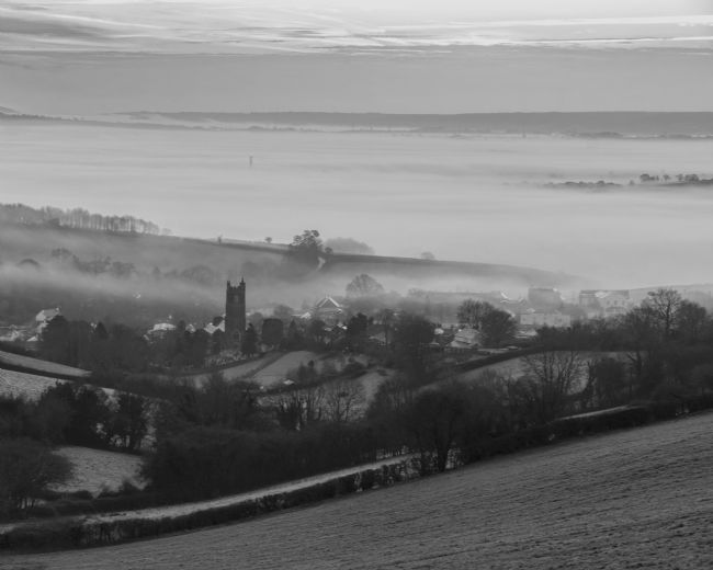 Pete Hemington | Bradninch in the mist