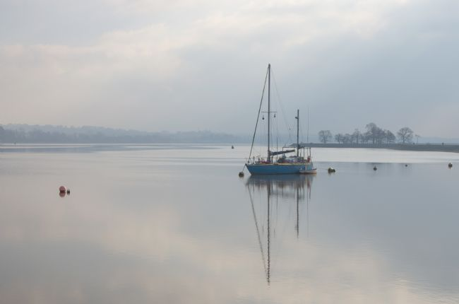 Peter Hemington | Mist on the Exe Estuary