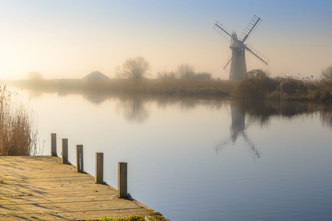 Stephen Mole | Morning at St Benet's Mill