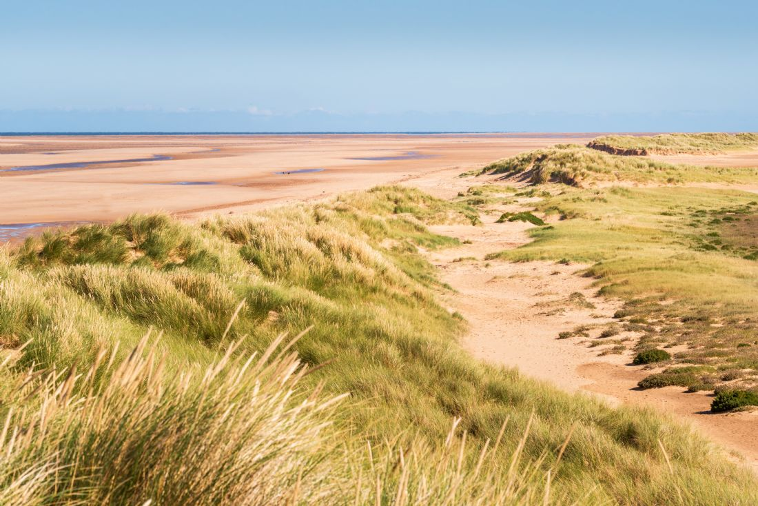 Stephen Mole | Sand Dunes over Holkham Beach