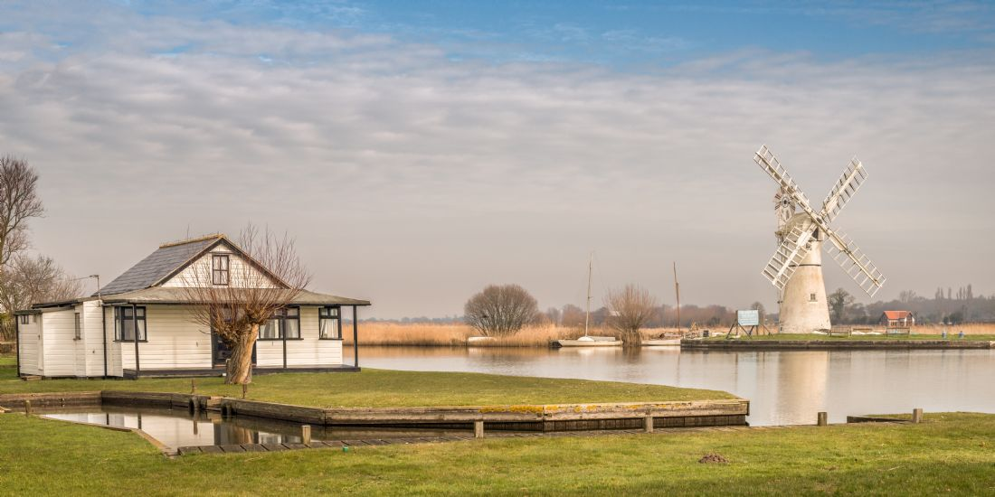 Stephen Mole | Across to Thurne Mill