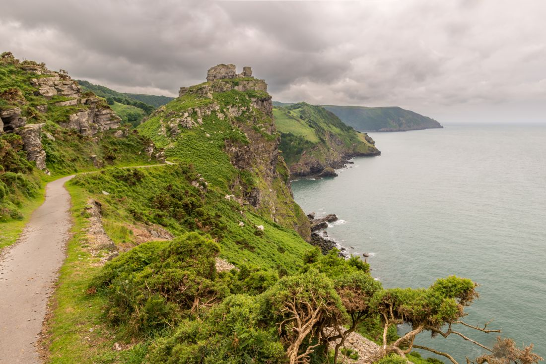 Stephen Mole | Valley of the Rocks, cliff path