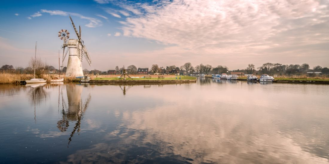 Stephen Mole | Panoramic Thurne Mill