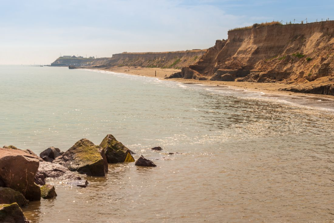Stephen Mole | Cliffs at Happisburgh
