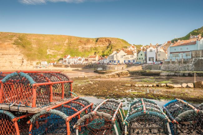 Stephen Mole | Lobster Pots at Staithes