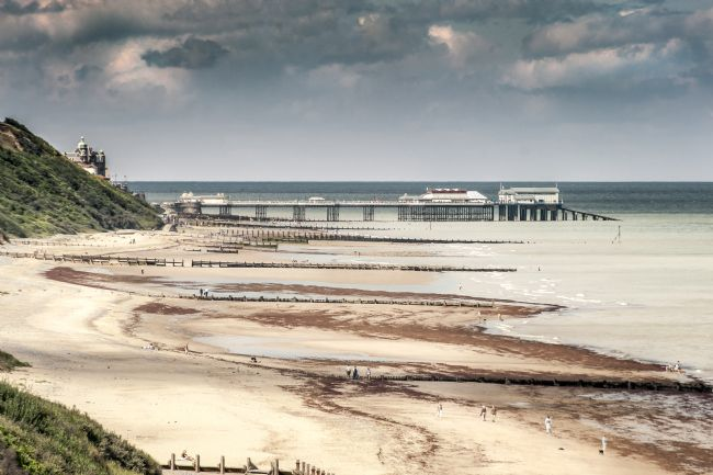Stephen Mole | Cromer pier from Overstrand