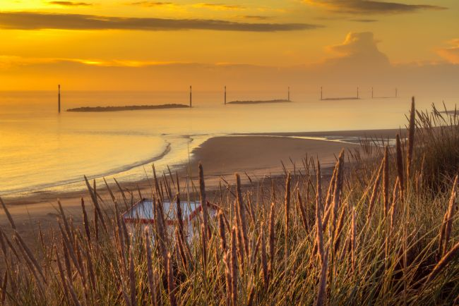 Stephen Mole | Sunrise at Sea Palling