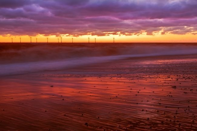 Stephen Mole | Caister Beach Sunrise
