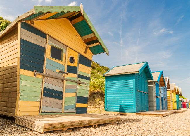 Stephen Mole | Beach Hut at Overstrand