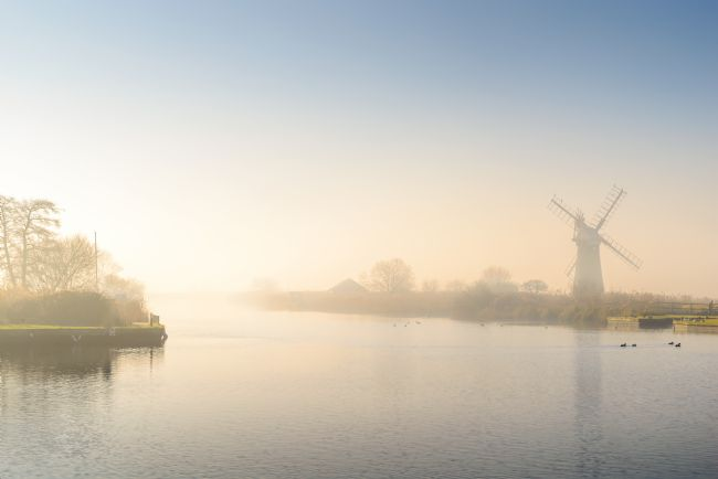 Stephen Mole | Misty morning at Thurne