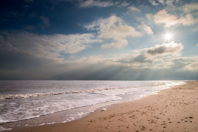Stephen Mole | Dark clouds at Hemsby Beach